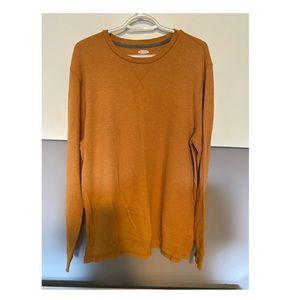 'Men's Mustard Colour Sweater'